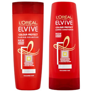 L'Oréal Paris Elvive Colour Protect Shampoo and Conditioner Set - Exclusive