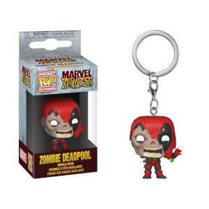 Marvel - Deadpool Zombie Portachiavi Pocket Pop!