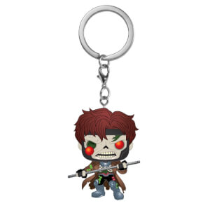 Marvel Zombies Gambit Pop! Keychain