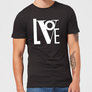 Love Men's T-Shirt - Black