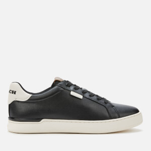 Coach Men's Tennis Cup Sole Trainers - Chalk/Black
