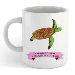 I Turtley Have A Crush On You Dude Mug