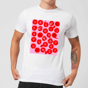 Love Letters Men's T-Shirt - White