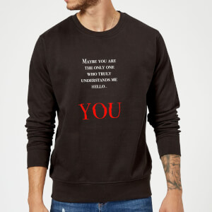 Hello You Sweatshirt - Black