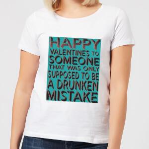 Drunken Mistake Women's T-Shirt - White