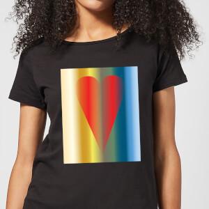 Art Heart Women's T-Shirt - Black