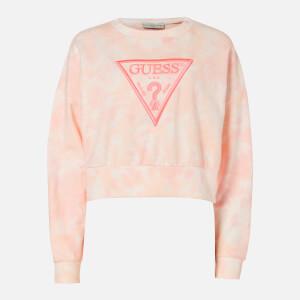 Guess Women's Mirtilla Sweatshirt - Pink Tie Dye