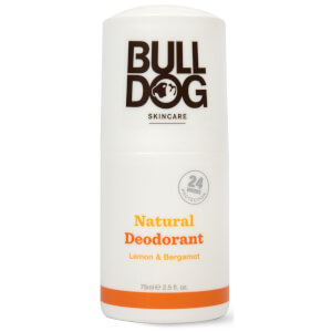 Bulldog Lemon & Bergamot Natural Deodorant 75ml