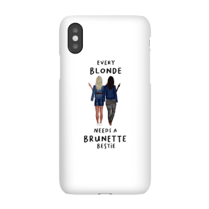 Every Blonde Needs A Brunette Bestie Phone Case for iPhone and Android