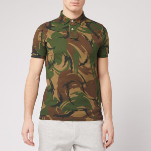 Polo Ralph Lauren Men's Camo Polo Shirt - British Elmwood Camo