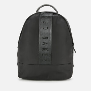 Ted Baker Men's Regon Branded Satin Nylon Backpack - Black