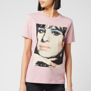 Coach 1941 Women's Barbra Streisand T-Shirt - Baby Pink