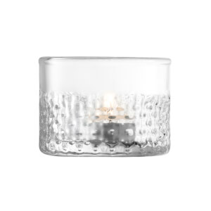 LSA Wicker Tealight - Clear