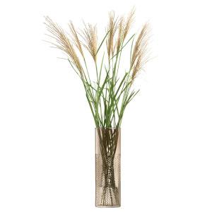 LSA Wicker Vase - Taupe 40cm