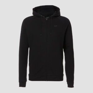 MP Form Zip Up Hoodie för män – Svart
