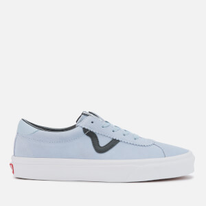 Vans Women's Sport Suede Trainers - Zen Blue/True White