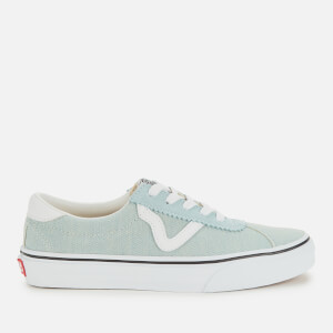 Vans Women's Sport Denim Trainers - Washed/True White