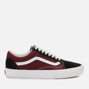 Vans Men's Old Skool P&C Trainers - Black/Port Royale