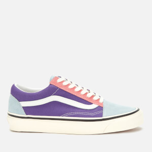 Vans Women's Anaheim Old Skool 36 DX Trainers - OG Light Blue/OG Purple/OG Pink