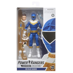 Power Rangers Lightning Collection - Figurine Ranger bleu Zeo