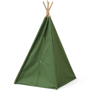 Kids Concept Mini Tipi Tent - Green