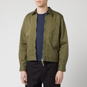 Universal Works Men's Zip Uniform Jacket - Light Olive
