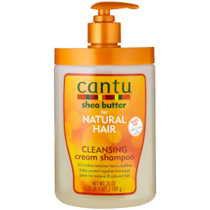 Cantu Shea Butter for Natural Hair Cleansing Cream Shampoo – Salon Size 25 oz