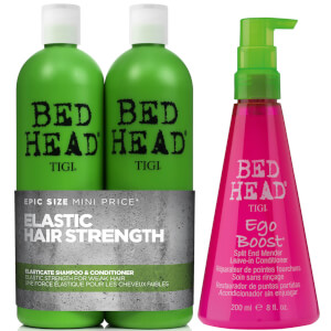 TIGI Bed Head Hair Strengthening Set for Weak Damaged Hair
