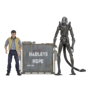 "NECA Aliens - 7"" Scale Action Figure - Hadley's Hope (2 Pack)"