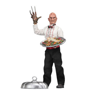 "NECA Nightmare on Elm Street - 8"" Clothed Figure - Part 5 Chef Freddy"