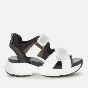 MICHAEL MICHAEL KORS Women's Harvey Chunky Sandals - Bright White