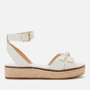 MICHAEL MICHAEL KORS Women's Ripley Flatform Sandals - Optic White