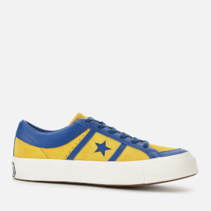 Converse Men's One Star Academy Ox Trainers - Yellow/Blue