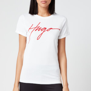 HUGO Women's The Slim T-Shirt - White