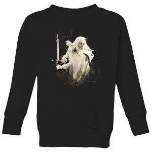 The Lord Of The Rings Gandalf Kids' Sweatshirt - Black