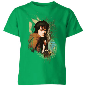 The Lord Of The Rings Frodo Kids' T-Shirt - Kelly Green
