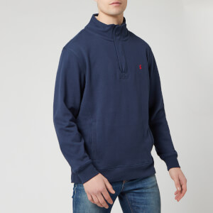 Joules Men's Deckside Half-Zip Sweatshirt - Navy