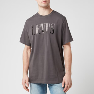 Levi's Men's '90s Logo T-Shirt - Forged Iron