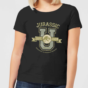 Jurassic Park Fossil Finder Women's T-Shirt - Black