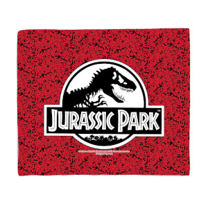 Jurassic Park Logo Fleece Blanket