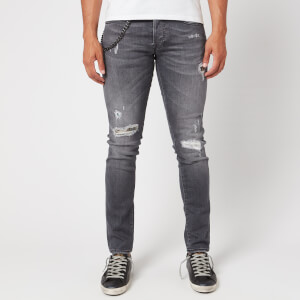 Tramarossa Men's 1980 Ripped Jeans - Denim Comfort Grey