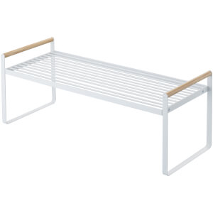 Yamazaki Tosca Kitchen Storage Shelf - White