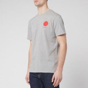 Edwin Men's Japanese Sun T-Shirt - Grey Marl