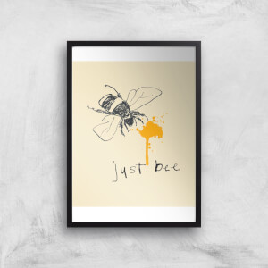 Poet and Painter Just Bee Gicl?e Art Print