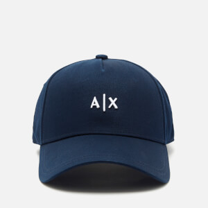 Armani Exchange Men's Small Logo Cap - Blue