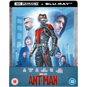 Ant-Man 4K + Blu-ray 2D - Steelbook Limited Edition Zavvi Exklusiv