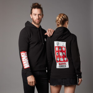 Marvel Earth's Mightiest Unisex Hoodie - Black