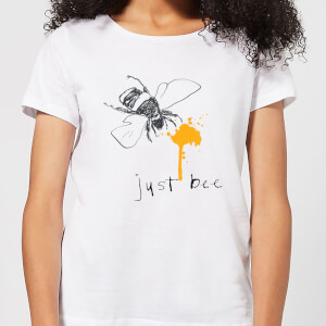 Poet and Painter Just Bee Women's T-Shirt - White