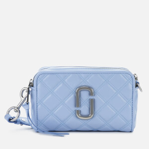 Marc Jacobs Women's The Softshot 21 Quilted - Blue Mist