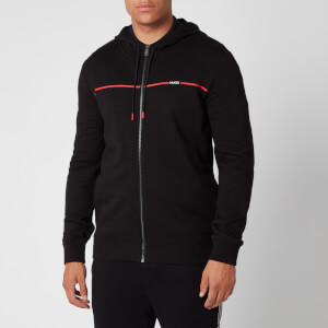 HUGO Men's Dapie Zip Sweatshirt - Black